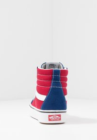 Vans - High-top trainers - true blue/chili pepper - 3