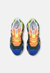Polo Ralph Lauren - TECH TOP LACE - Sneakers basse - black/multicolor - 4