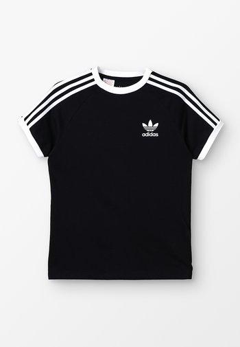 STRIPES TEE - Print T-shirt - black/white