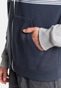 Quiksilver - EVERYDAY - Zip-up sweatshirt - blue nights - 4