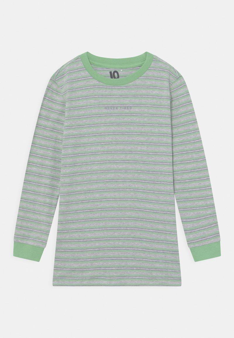 Cotton On - FREE BOYS LONG SLEEVE - Top sdlouhým rukávem - light grey/spearmint