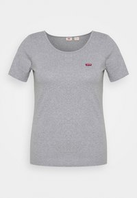 Levi's® Plus - TEE 2 PACK  - T-shirts - white/grey - 1