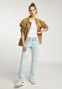 myMo - Light jacket - dunkelsand - 1