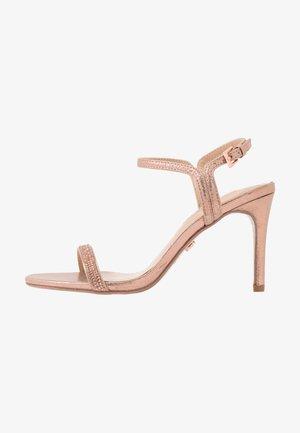 BLINK PART  - Sandaler med høye hæler - rose gold