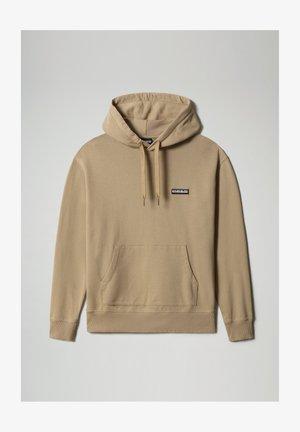 Hoodie - mineral beige