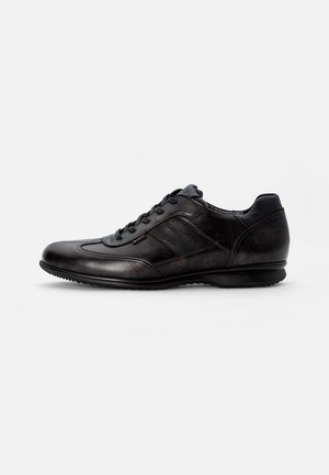 VERNON - Casual lace-ups - asphalt/marine