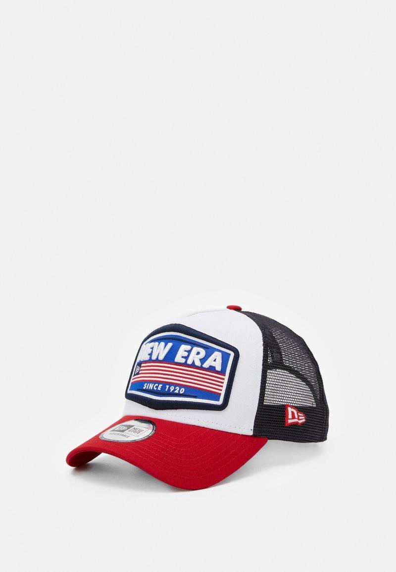 New Era - USA PATCH TRUCKER - Cap - white