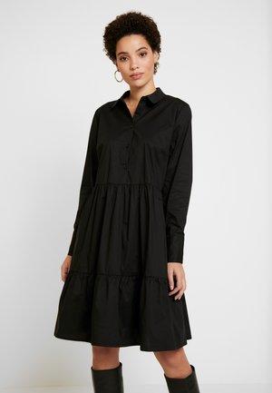 DRHROYA DRESS - Košilové šaty - black