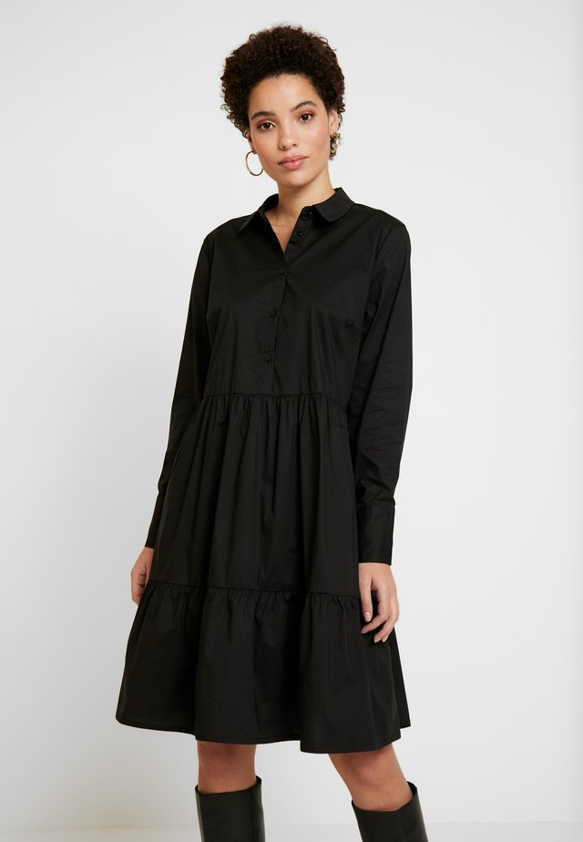 DRHROYA DRESS - Skjortekjole - black