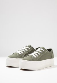 Even&Odd - Trainers - khaki - 4
