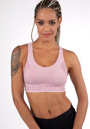 Medium support sports bra - pink