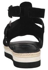 Sansibar Shoes - Sandalen met plateauzool - schwarz - 2