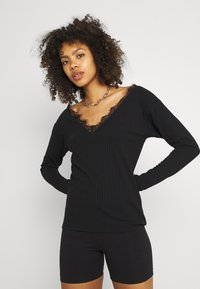 Nly by Nelly - EDGE - Long sleeved top - black - 0