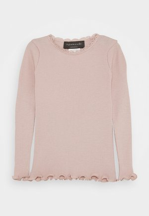Long sleeved top - vintage powder