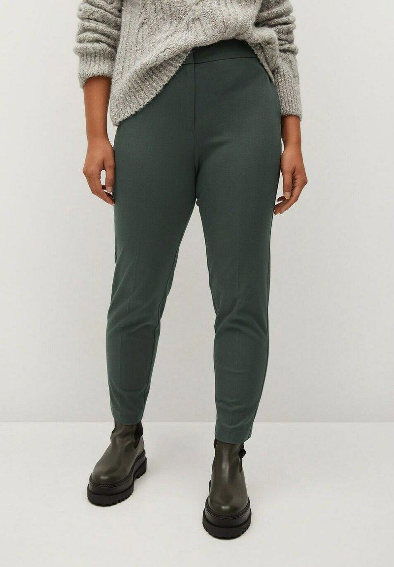 Violeta by Mango - JOSE8 - Trousers - grün