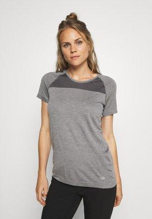 MOTION SEAMLESS CREWE - T-shirts basic - grey