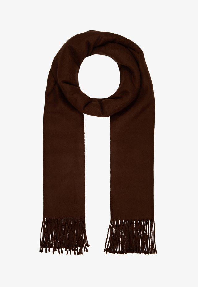TINA SCARF - Szal - brown