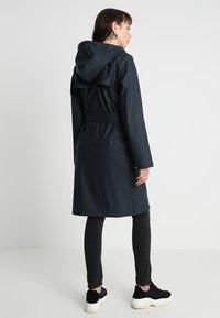 YAS - YASRAINA RAIN COAT - Waterproof jacket - carbon - 2