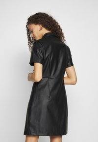New Look Petite - BELTED DRESS - Shirt dress - black - 3