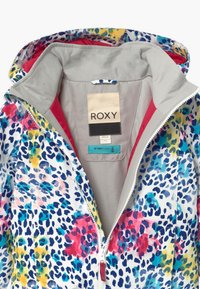 Roxy - MINI JETTY - Snowboard jacket - bright white leopold - 3