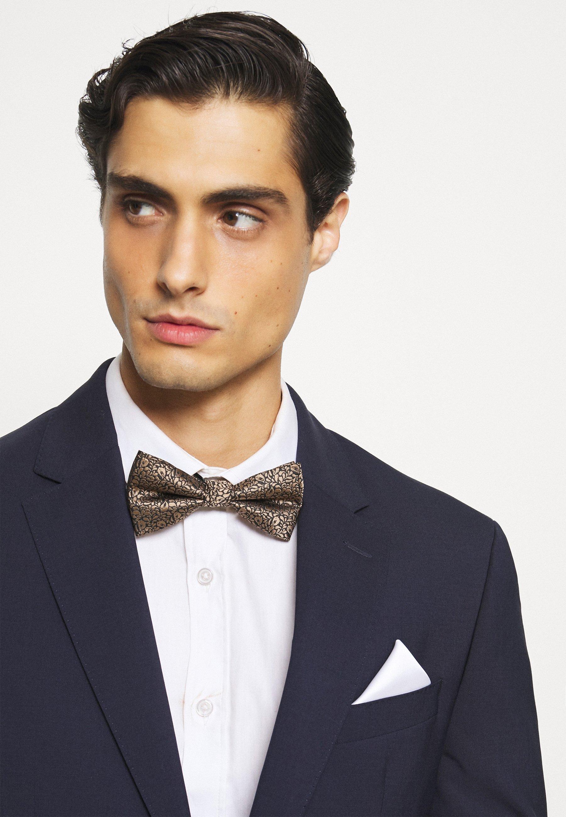 Homme JACMETALLIC NECKTIE SET - Cravate