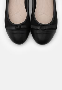 Evans - WIDE FIT TOE CAP - Klassischer  Ballerina - black - 5