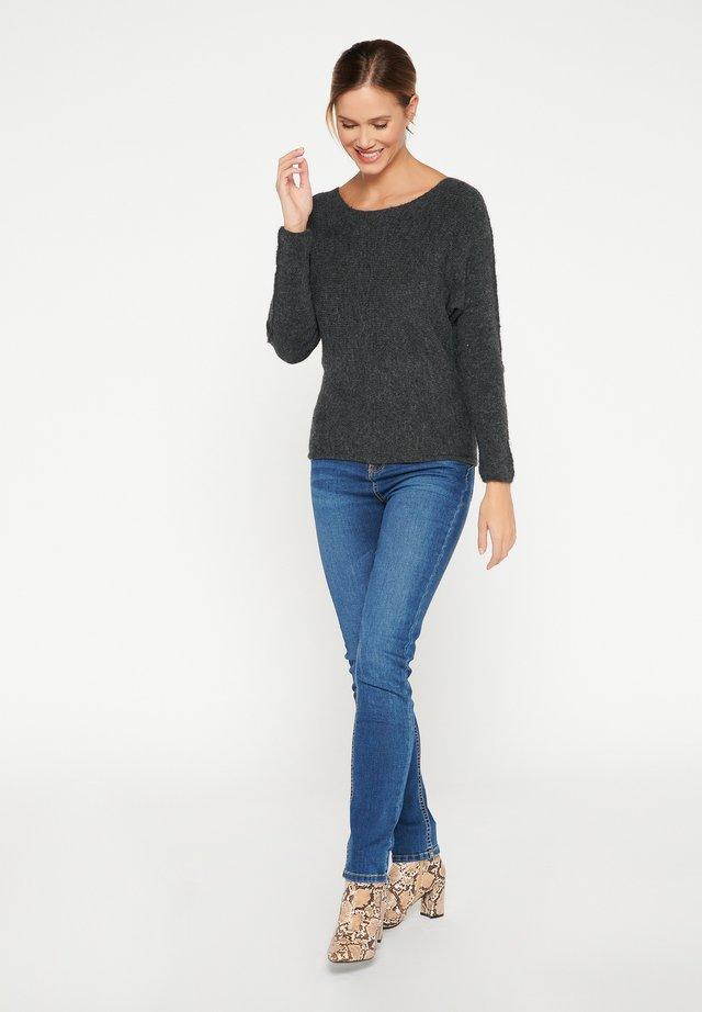 Jersey de punto - dark grey