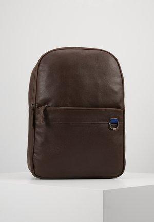 LEATHER - Batoh - dark brown