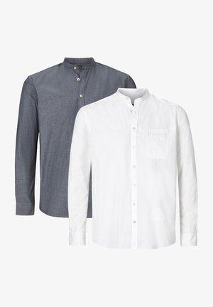 DOPPELPACK  - Shirt - weiß blau