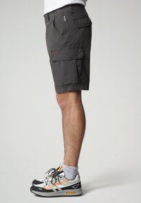 Napapijri - NOTO - Shorts - dark grey solid - 2