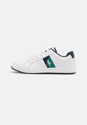 ORMOND - Trainers - white/navy/green
