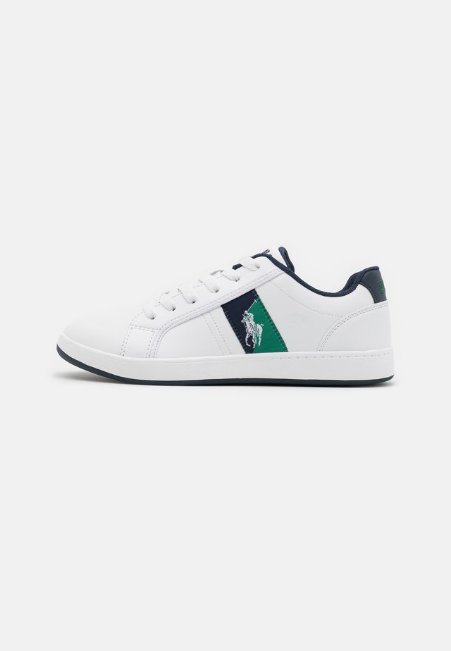 ORMOND - Baskets basses - white/navy/green