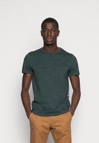 TOM TAILOR DENIM - NOS  - Basic T-shirt - dark gable green - 0