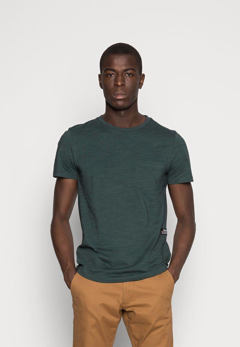 TOM TAILOR DENIM - NOS  - Basic T-shirt - dark gable green