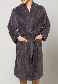 CAWÖ - LAGO  - Dressing gown - anthrazit - 4