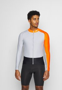 POC - ESSENTIAL ROAD  - Long sleeved top - granite grey/zink orange - 0