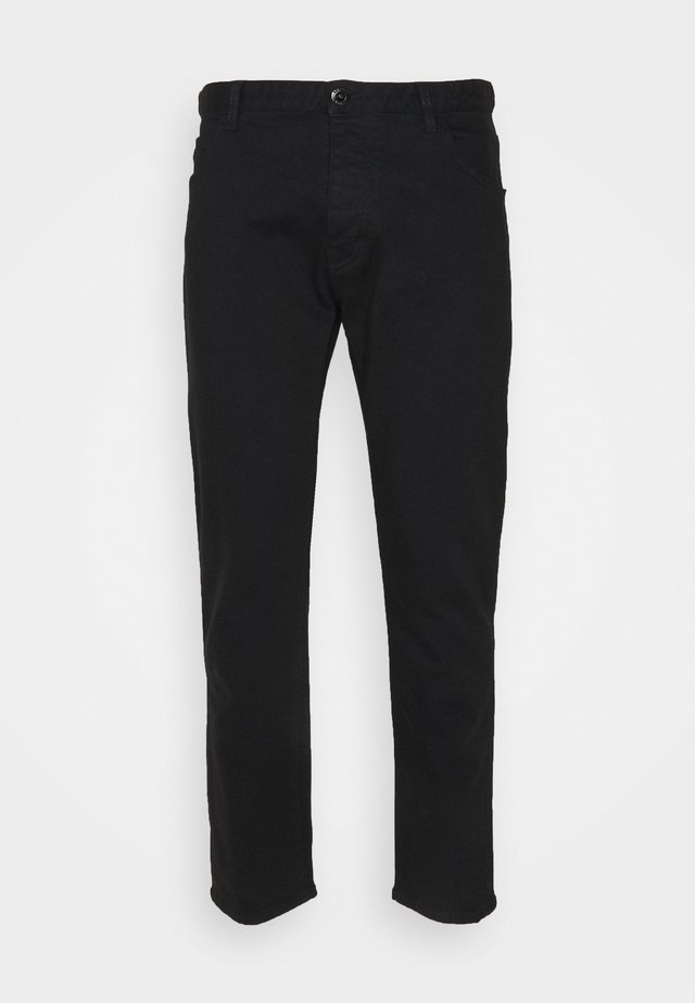 POCKETS PANT - Jeans a sigaretta - nero