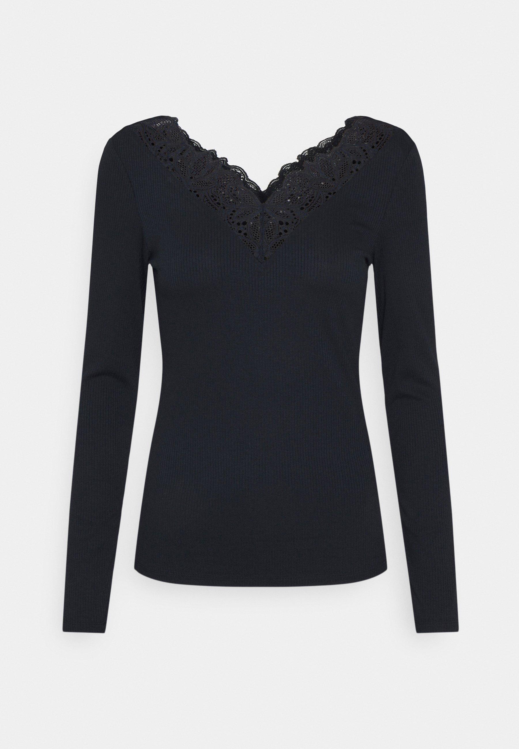 Women YASELLE V NECK  - Long sleeved top