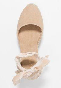 ALOHAS - CLARA BY DAY - Sandály na vysokém podpatku - stone beige - 3
