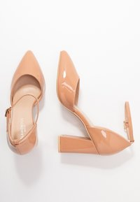 Glamorous Wide Fit - Zapatos altos - nude - 3