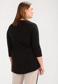 Zizzi - Long sleeved top - black - 2