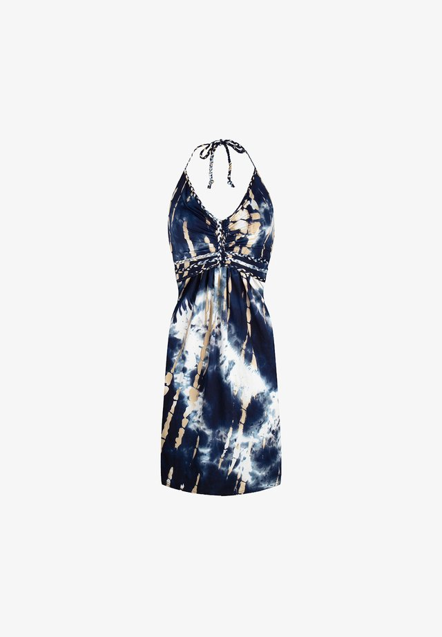 Korte jurk - samoa blue