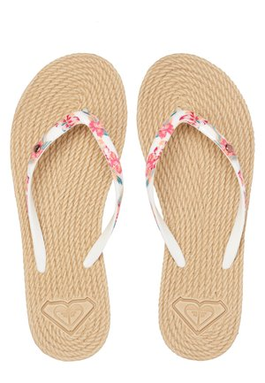 ROXY™ SOUTH BEACH - SANDALEN FÜR FRAUEN ARJL100685 - Chanclas de dedo - white ginger