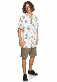 Quiksilver - Shirt - snow white tropical print pack - 1
