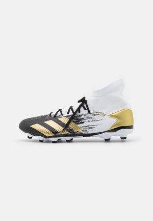 PREDATOR 20.3 FOOTBALL BOOTS MULTI GROUND - Voetbalschoenen met kunststof noppen - footwear white/gold metallic/core black
