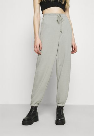 DRAWSTRING  - Tracksuit bottoms - grey