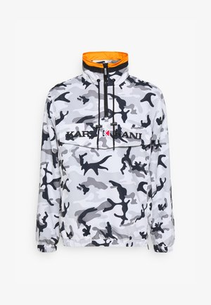 RETRO CAMO WINDBREAKER - Korte jassen - black/grey/white