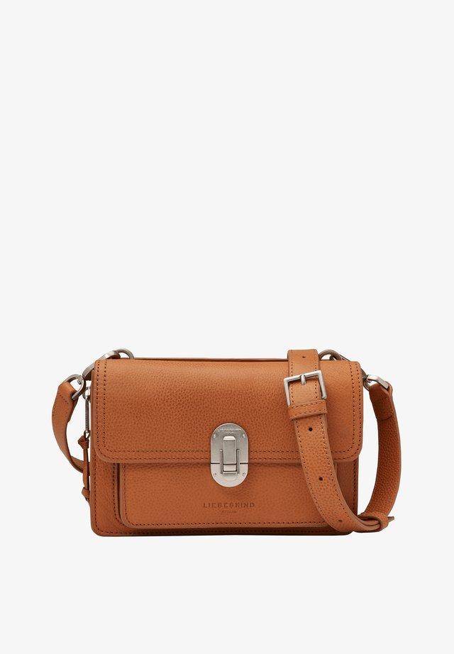 JOAN - Across body bag - golden amber
