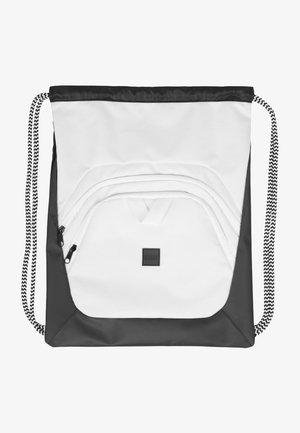 Across body bag - black/white/white