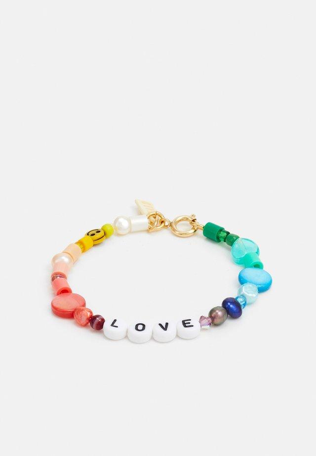 CANDY MAN BRACELET LOVE - Náramek - multicoloured